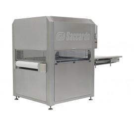 Saccardo AS 38 – 1000/1500 – конвейерная вакуумная упаковочная машина