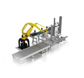 Роботизированное устройство укладки груза на поддоны (RPL)