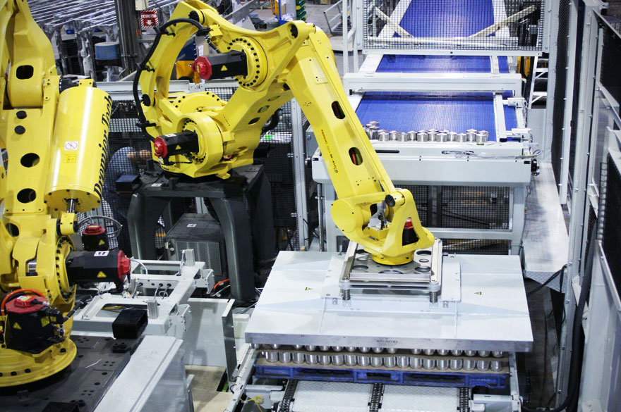 industrial robot control system A robot must have a control system to operate its drive system, which is used to move the arm, wrist, and body of a robot at various pathswhen different industrial robots are compared with their control system, they can be divided into four major types they are.